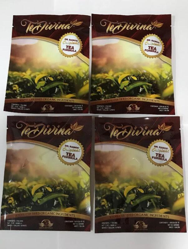 Te Divina The Original Detox Tea. 4 Weeks supply.TeDivina 4 bags. Organic detox