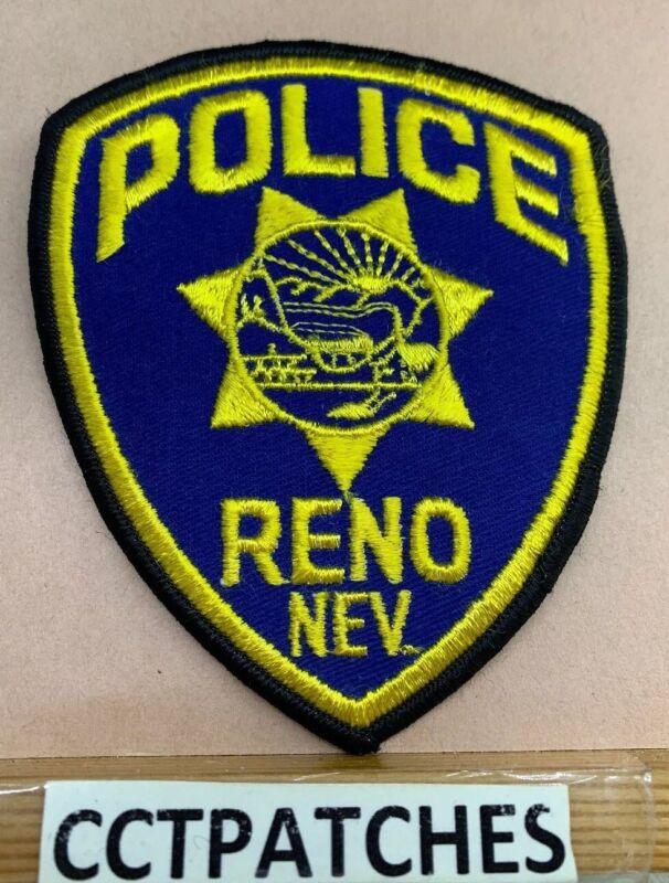 RENO, NEVADA POLICE SHOULDER PATCH NV