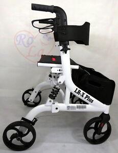 neuestes Modell Rollator LR-X Plus Leicht Tasche alu klappbar gehhilfe gehwagen