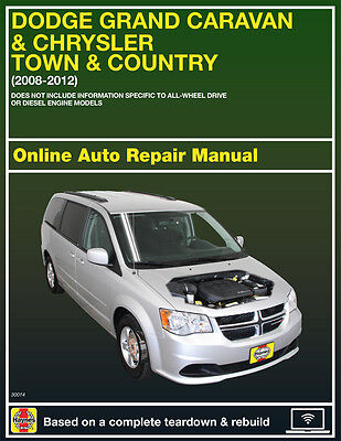 2010 Dodge Grand Caravan Haynes Online Repair Manual Select Access