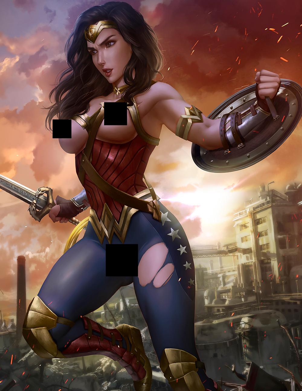 DC Universe Game Art Figure Statue Figurine PS4 Zatanna #2 Photo Print
