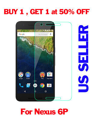Steep Real 9H Tempered Glass Screen protector For Huawei Google Nexus 6P 2015