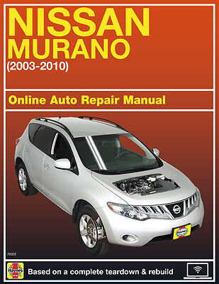 2005 Nissan Murano Haynes Online Repair Manual Select Access