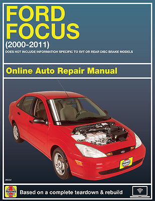 2008 Ford Focus Haynes Online Repair Manual Select Access