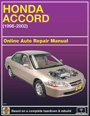 2000 Honda Accord Haynes Online Repair Manual Select Access