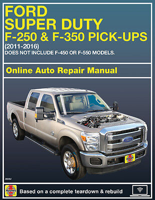 2015 Ford F 250 Super Duty Haynes Online Repair Manual Select Access