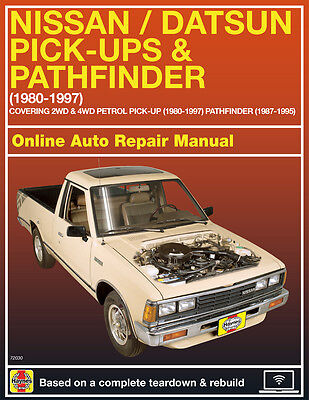 1992 Nissan D21 Haynes Online Repair Manual Select Access
