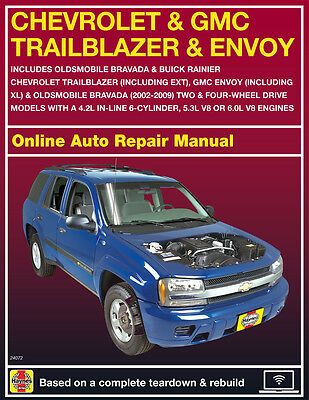 2006 Chevrolet Trailblazer Haynes Online Repair Manual Select Access