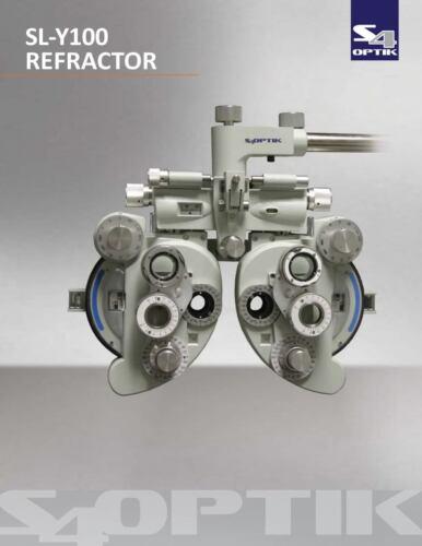 S4optik SL-Y110 Manual Refractor Phoroptor