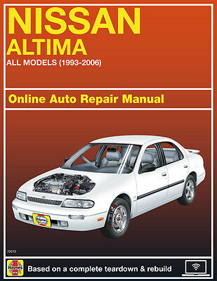 2002 Nissan Altima Haynes Online Repair Manual Select Access