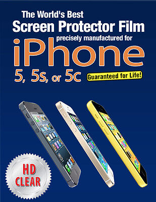 Best Quality iPhone 5 Screen Protector also iPhone 5s, iPhone 5c,