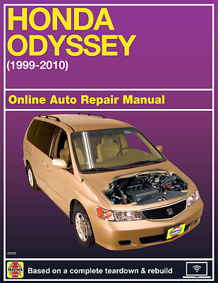 2003 Honda Odyssey Haynes Online Repair Manual Select Access