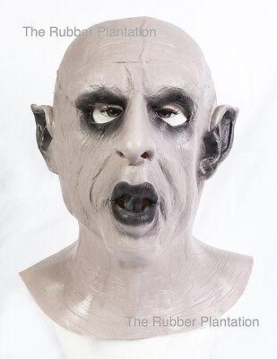 Nosferatu Maske Voller Kopf Latex Halloween Kostüm Vampir Dracula