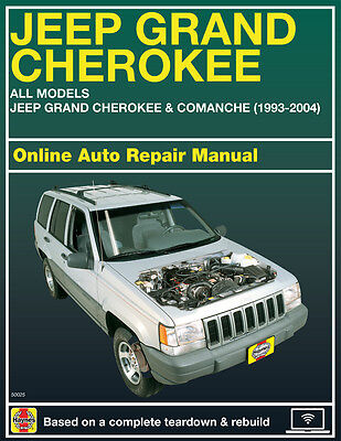 2001 Jeep Grand Cherokee Haynes Online Repair Manual Select Access
