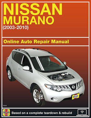 2006 Nissan Murano Haynes Online Repair Manual Select Access