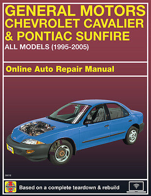 2002 Pontiac Sunfire Haynes Online Repair Manual Select Access