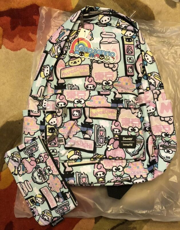 Hello Kitty And Friends Backpack Sanrio Loungefly Exclusive NYCC 2019 IN HAND