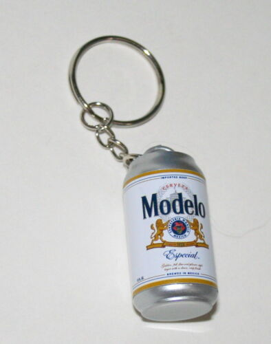 Modelo Especial Beer Faux Can Advertising Promo Key Chain New NOS