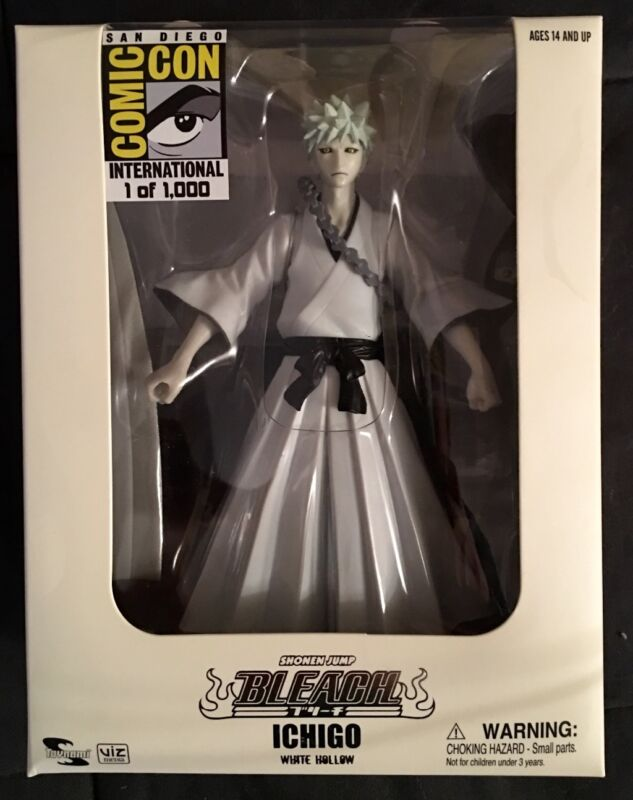 RARE 2009 SDCC Comic Con Exclusive Bleach White Hollow Toy Ichigo Figure Toynami