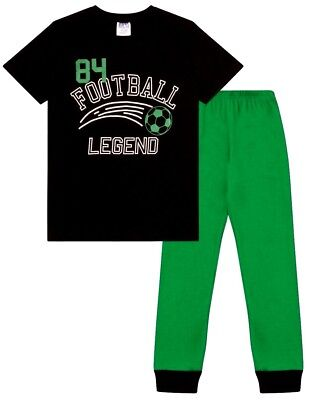 Football Legend Glow In The Dark Long Pyjamas  7 8 9 10 11 12 13  Years  (Glow In The Dark Footballs)