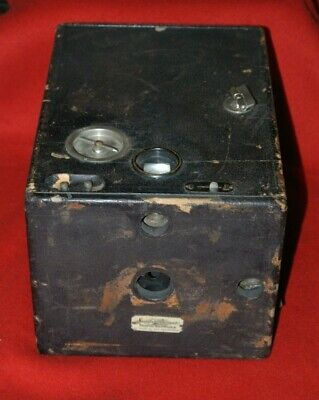 "Used, Sunset Bazar Sanfrancisco 4""x 5"" Falling Dry Plate Antique Vintage Camera Works for sale  Shipping to India"
