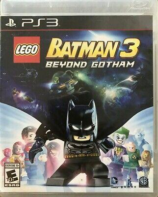 LEGO Batman 3: Beyond Gotham Game (Sony PlayStation 3, 2014) PS3 Warner Brothers