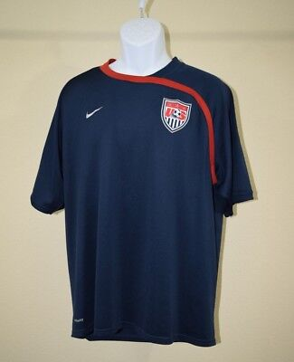 b28072f365e Nike USA Mens Away Stadium Soccer Football Jersey Size XL Excellent!!!