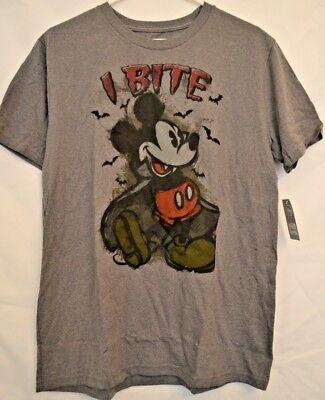 Disney Store Mickey Mouse Halloween T-Shirt Vampire