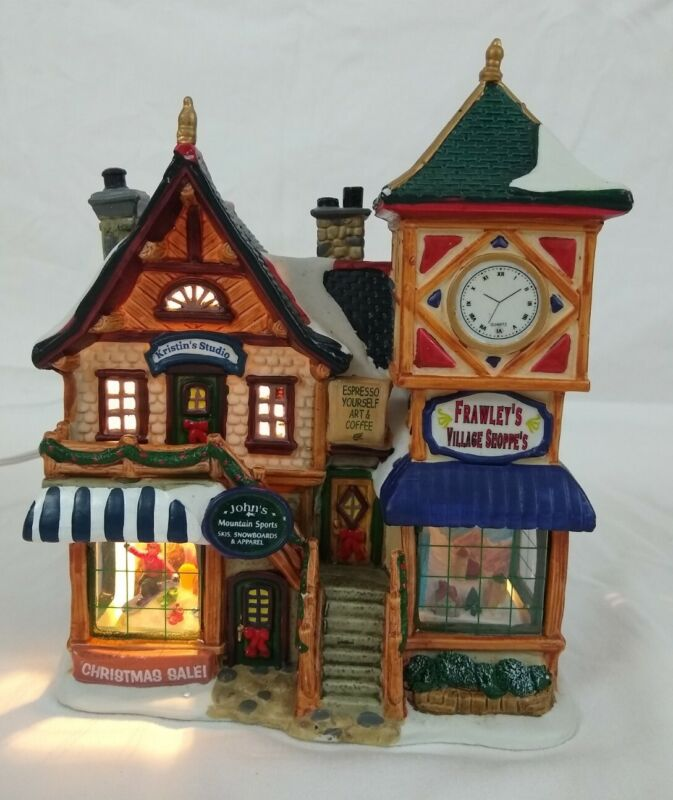 Lemax Village Collection Lighted Building John