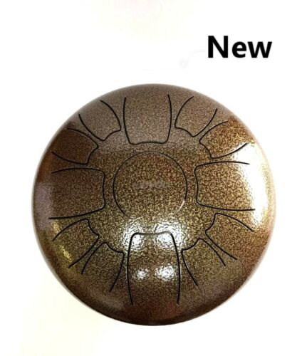 Wuyou Steel Tongue Drum ~ 12 Inch 13 Note Handpan Percussion Sound Healing Drum