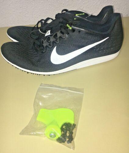 Men's Nike Zoom Matumbo 3 Track Spikes Black White 835995-017 Size 11 W/ Spikes