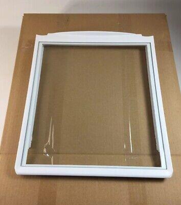 Frigidaire Refrigerator Crisper Shelf Frame & Glass 240350702, 241711236 -
