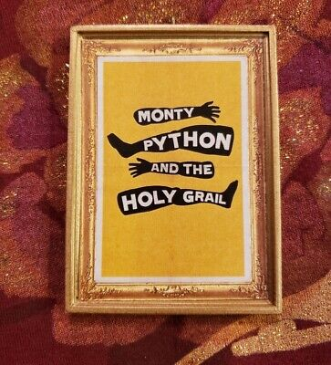 Monty Python And The Holy Grail Christmas Ornament/Magnet/Dollhouse Miniature ()