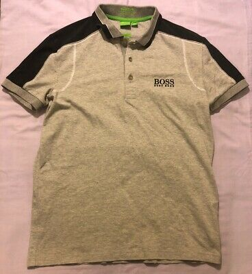 Hugo Boss Polo Golf Shirt With Moisture Manager Size Small