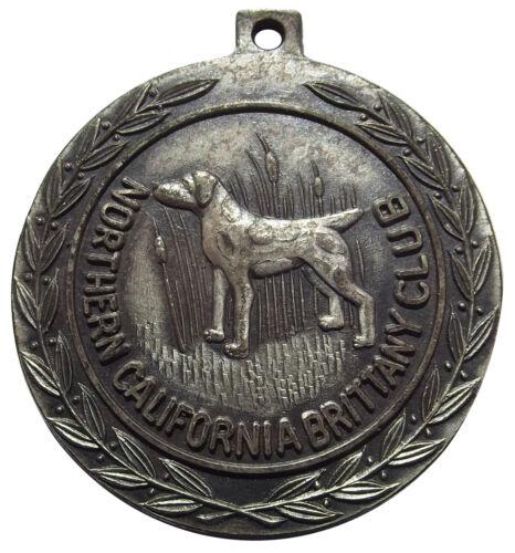 Northern California Brittany Club Medal - (bird hunting gun dog) Token (1950s)