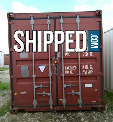 Used 40ft Hc Shipping Container We Deliver Business Home Storage-pensacola Fl