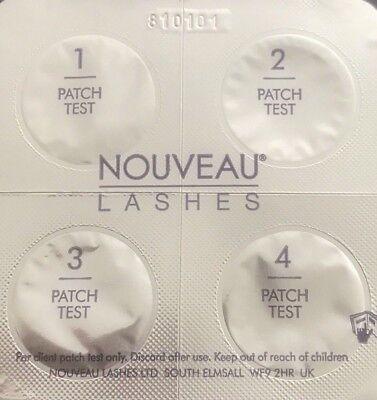 NOUVEAU LASHES LVL Enhance Lash Lifting test patch blister pack X 1 - New!!