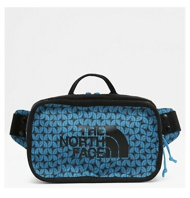 New Men's Accessories The North Face Explore bum bag-ACOUSTIC BLUE MLTGDM PRINT
