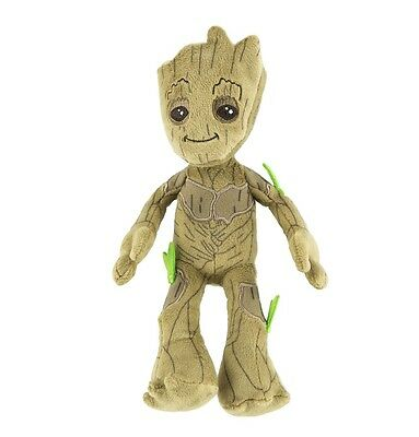 Disney Store Plush Guardians Of The Galaxy  Baby Groot Mini Bean Bag 8 1 2  Nwt