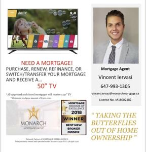 Mortgage with complimentary TV