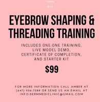 Learn threading, facials, microdermabrasion be your own boss