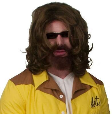 The Big Lebowski The Dude Costume Wig & - The Big Lebowski Halloween Costume