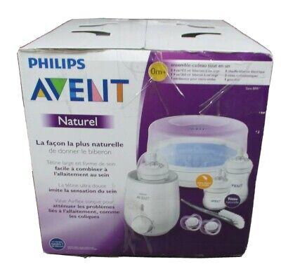 Philips Avent Natural Gift Set Microwave Sterilizer, Bottle Warmer SCD207/01