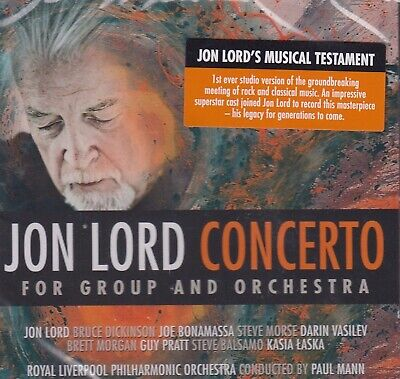 Jon Lord (Deep Purple) / Concerto for Group and Orchestra (NEU! OVP,