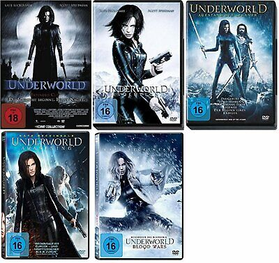 UNDERWORLD Teil 1 2 3 4 5 Complete Collection KATE BECKINSALE DVD Blood Wars NEU ()
