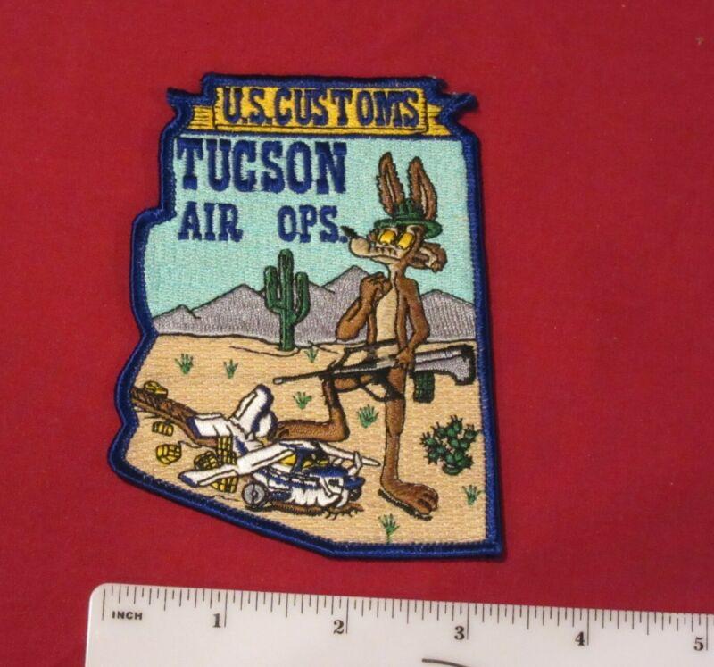 U.S. Custom Tucson, Air Ops patch