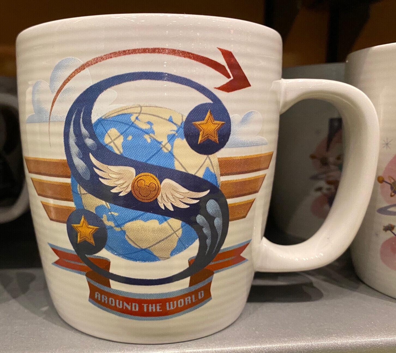 Disney Parks Letter S  ABC Ceramic Mug  NEW