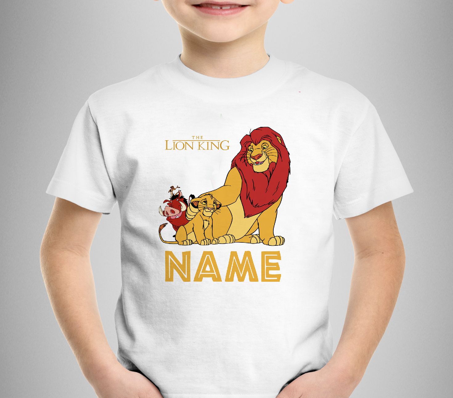 Personalized Lion King T-Shirt