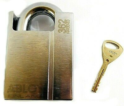 Abloy Different-keyed Military Grade Shrouded Padlock 2-5364 Pl362b-kd