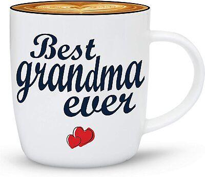 Best Grandma Ever Coffee Mug, Mothers Day Gifts For Grandma, Present,